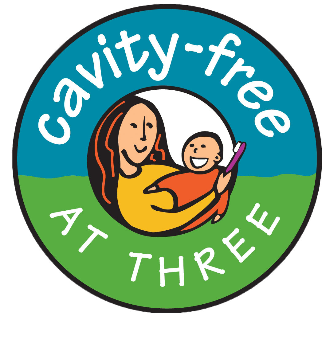 Cavity-Free at Three Logo
