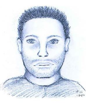 Drawing of a person of interest (sheriff&#39s office)