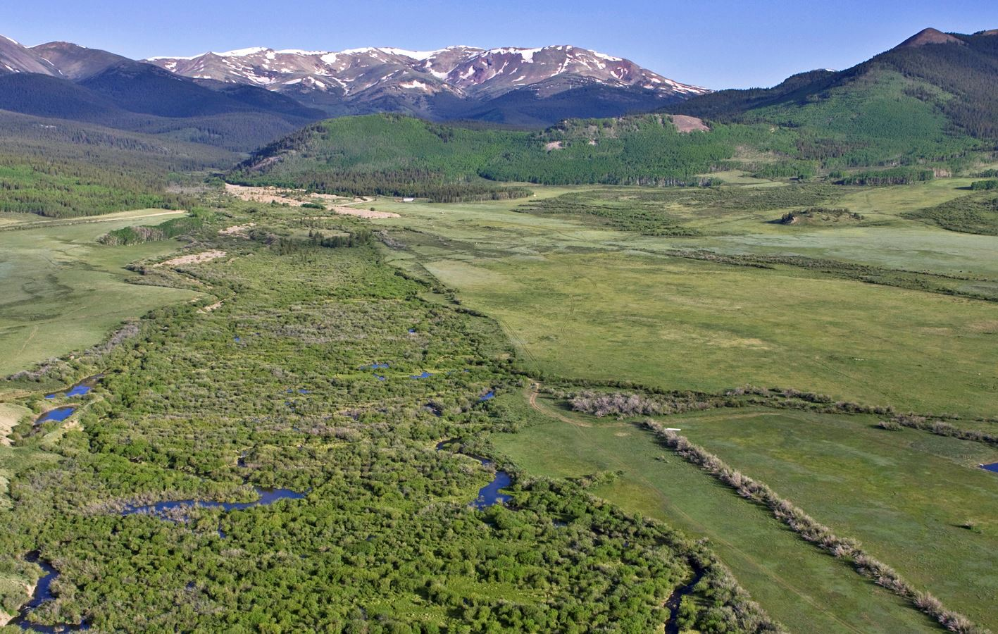 Cline Ranch Aerial