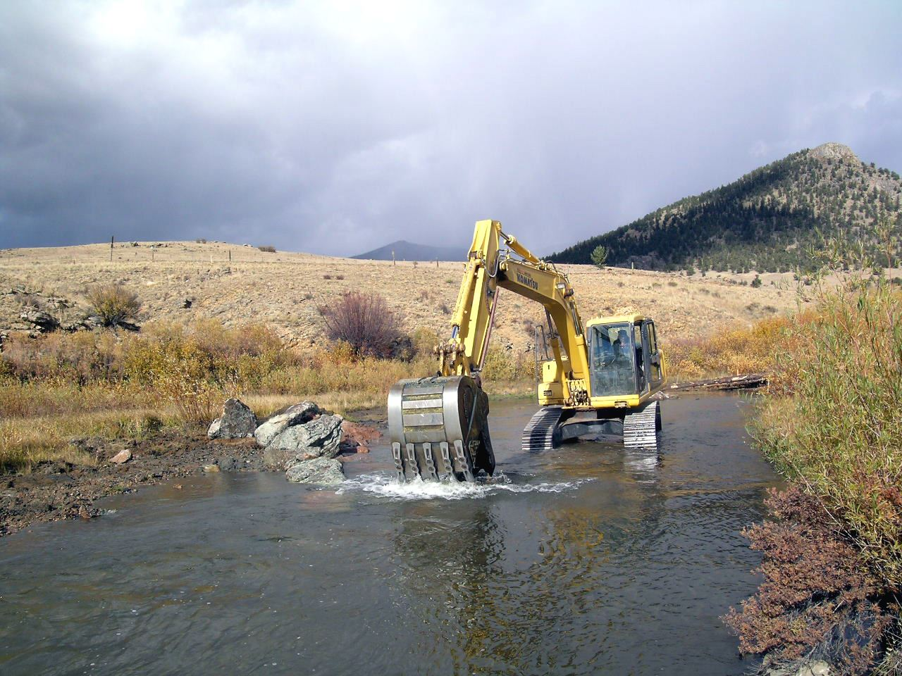 Tarryall L and C Ranch Stream Project