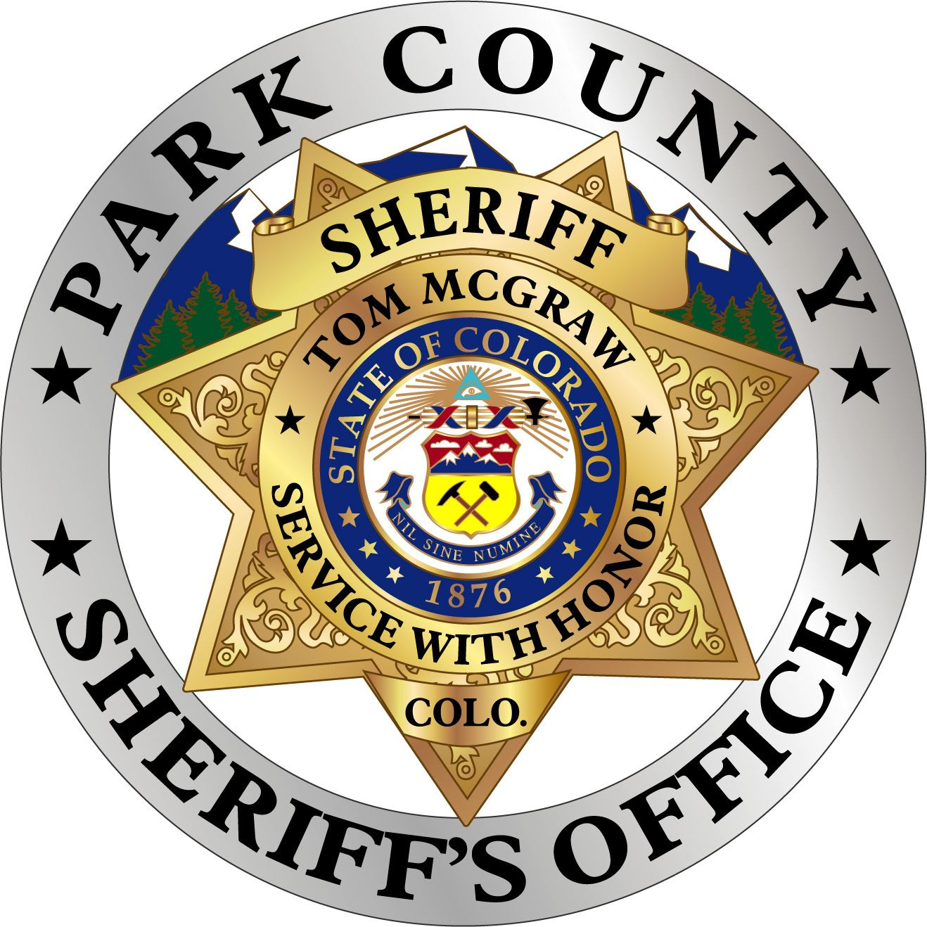 Park County Sheriff Colorado Badge